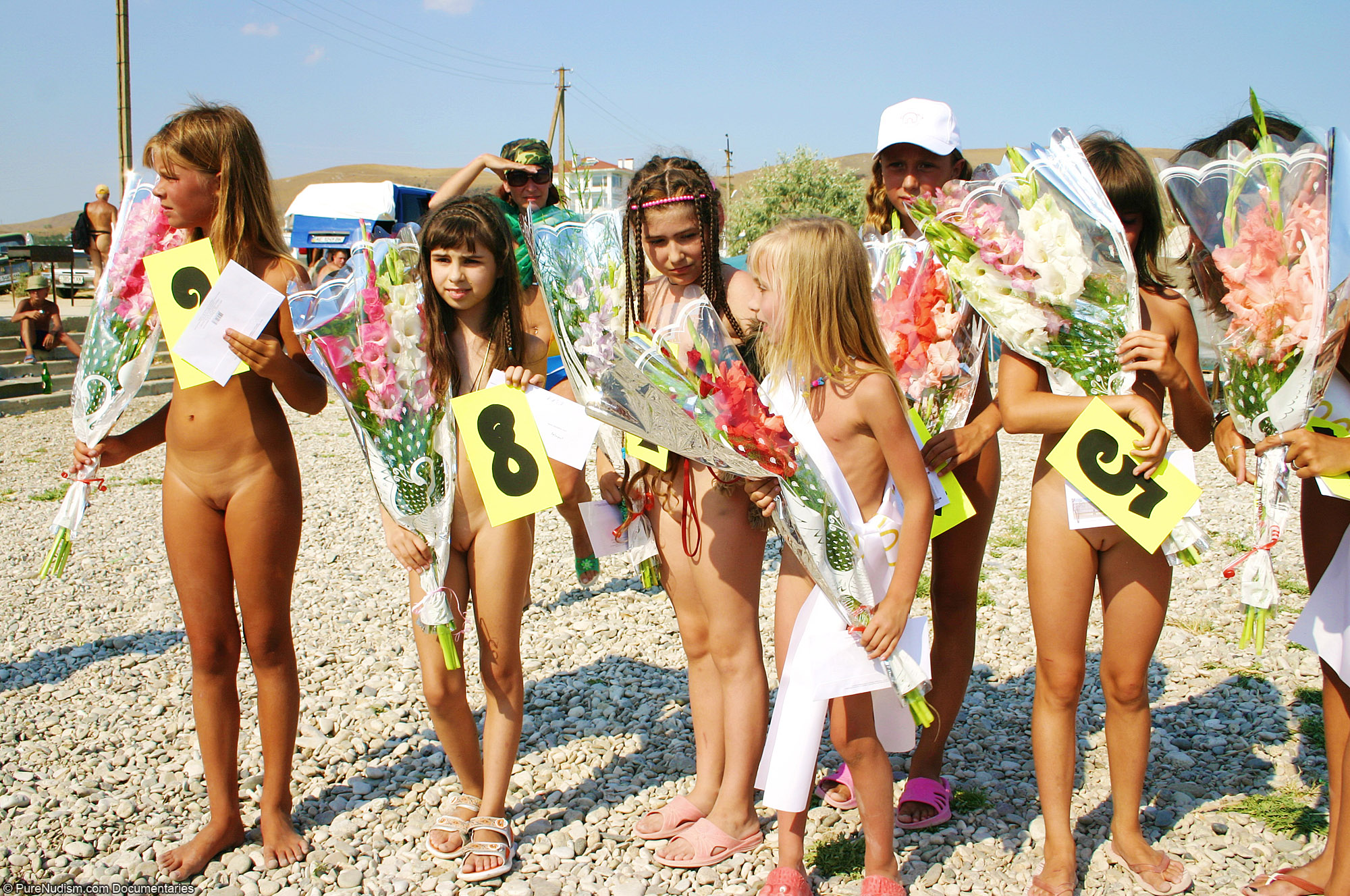 Junior Miss Nudist Contest  COM - Girl Winners In Our Miss Naturist Contest Picture